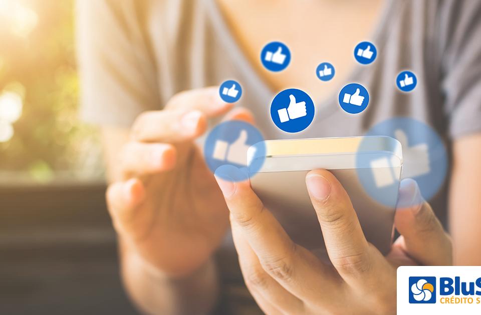 negócio nas redes sociais